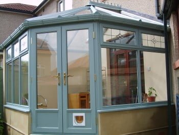 Hardwood Conservatory in Green