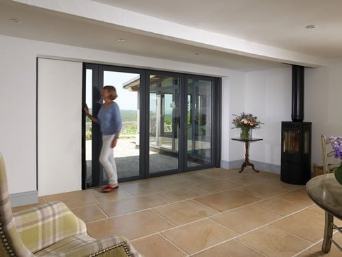 Centor Bi-Fold door closed