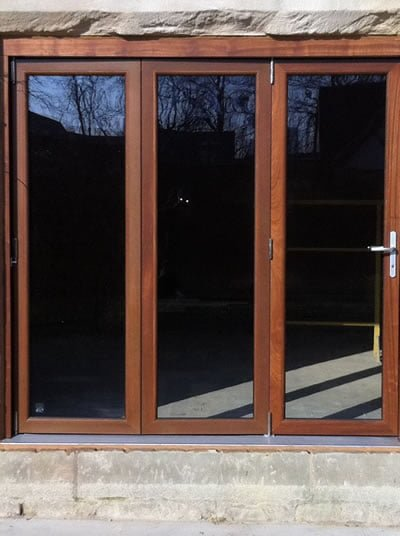 Triple Unit Bi-Fold Door