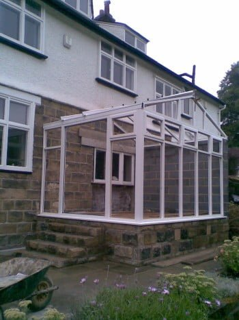 Timber Gable End Conservatory