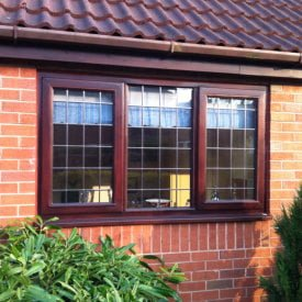 Hardwood Timber Leaded Window