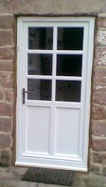 White Timber Panel Door