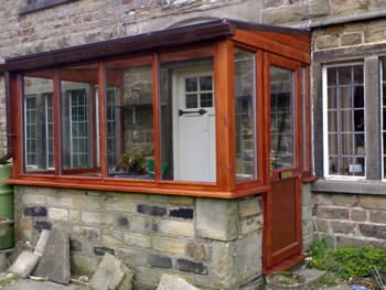 Timber Porch