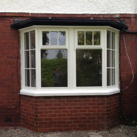 White Timber Window