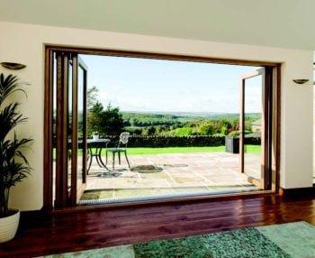 Centor bi-fold doors